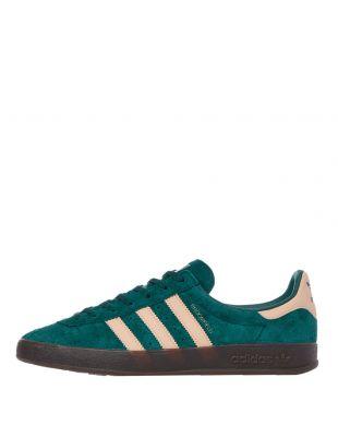 adidas Originals Broomfield Trainers | EF5735 Green / Orange