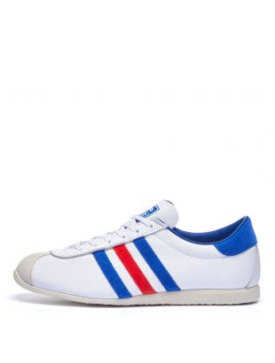 adidas cadet trainers FX5585 white / blue / red