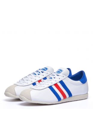 Cadet Trainers - White / Blue / Red