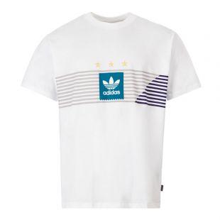 adidas Originals T-Shirt Campeonato | EC7351 White