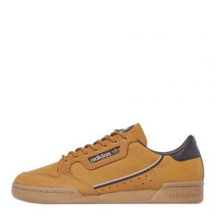 adidas continental 80 trainers EG3098 brown