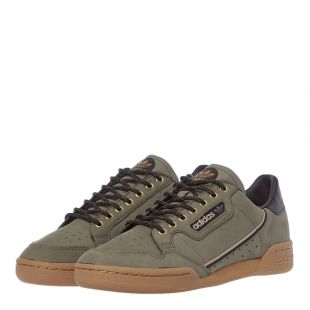 Continental 80 Trainers - Green