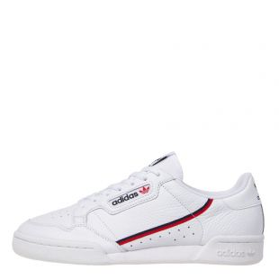 adidas continental 80 trainers G27706 white