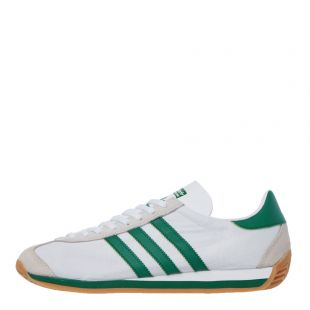 adidas country og trainers EE5745 white / green