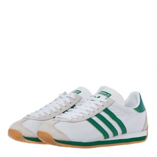 Country OG Trainers - White / Green