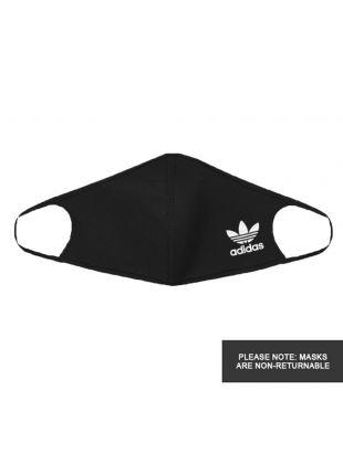 Face Masks 3 Pack - Black