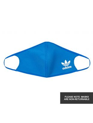 adidas Face Covers 3 Pack | H32391 Blue
