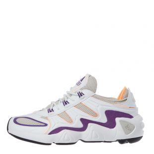 adidas Originals FYW S-97 Trainers | EE5303 White / Orange / Purple / Black
