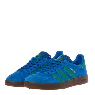 Gazelle Indoor Trainers – Blue / Green