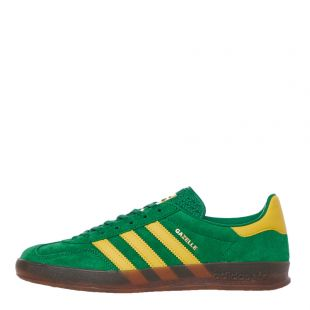 adidas gazelle indoor trainers EE5763 green / yellow