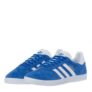 Gazelle Trainers - Blue / White