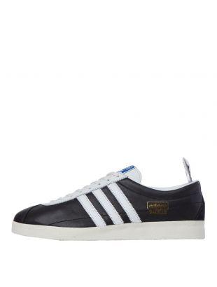 adidas Originals Gazelle Vintage Trainers | FU9658 Black / White