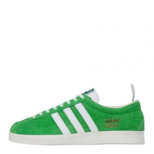 adidas Originals Gazelle Vintage Trainers| EF5577 Green