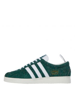adidas Gazelle Vintage Trainers | Collegiate green / Cloud White / Off White