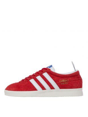 adidas Originals Gazelle Vintage Trainers | FU9657 Red