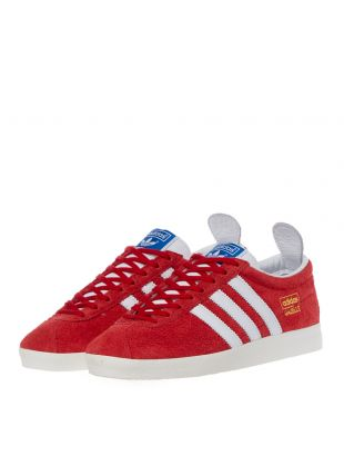 Gazelle Vintage Trainers - Red
