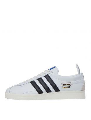 adidas Originals Gazelle Vintage Trainers | FU9659 White / Black