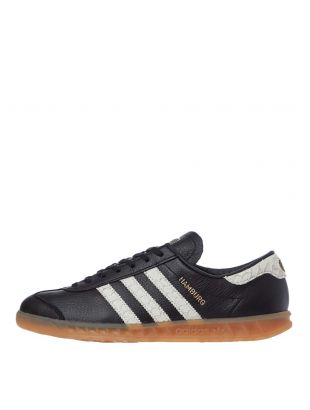 adidas Originals Hamburg Trainers | EF5674 Black / White