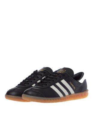 Hamburg Trainers - Black / White