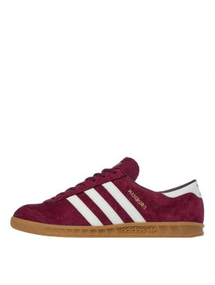 adidas Originals Hamburg Trainers | FV1205 Maroon
