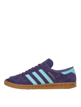 adidas Originals Hamburg Trainers | FV1204 Purple