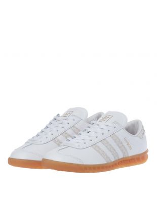 Hamburg Trainers - White / Silver