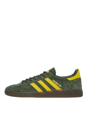 adidas Handball Spezial Trainers | EF5748 Green / Yellow