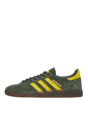 adidas Handball Spezial Trainers | EF5748 Green / Yellow