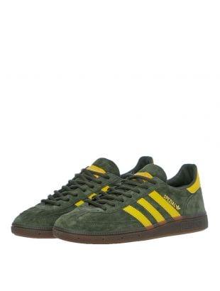 Handball Spezial Trainers – Green / Yellow