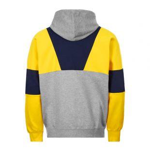 Hoodie - Yellow / Grey / Navy