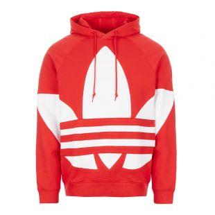 adidas Trefoil Hoodie | FM9907 Lush Red