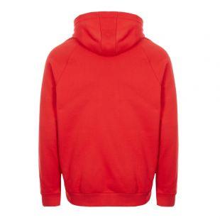 Trefoil Hoodie – Lush Red