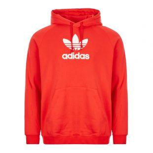adidas Originals Hoodie | FM9914 Lush Red