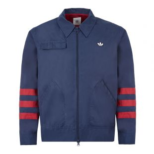 adidas Zipped Jacket | FM2200 Navy