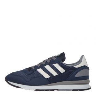 adidas lowertree trainers EE7962 navy