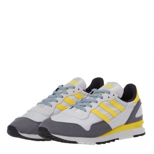 Lowertree Trainers - Grey / Yellow