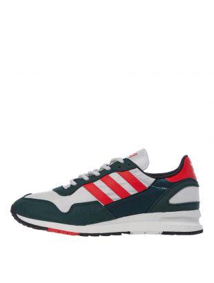 adidas Originals Lowertree Trainers | EF4923 Green / Red / White