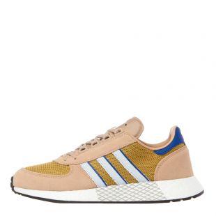 adidas originals marathon tech trainers EE4916 beige