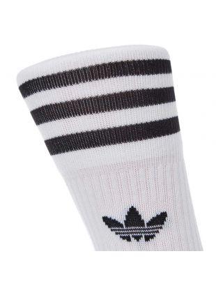 3 Pack Socks – White / Black