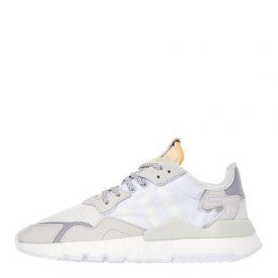 adidas Nite Jogger Trainers |  EE5855 Cream / White