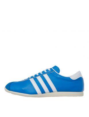 adidas overdub trainers FV9682 blue / white
