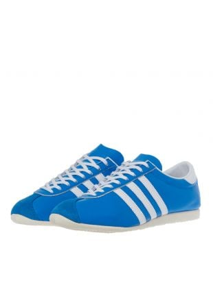 Overdub Trainers - Blue / White