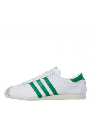 adidas overdub trainers FV9683 white / green