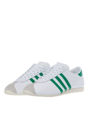 Overdub Trainers - White / Green