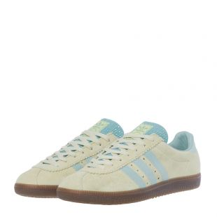 Padiham Trainers – Sand / Green