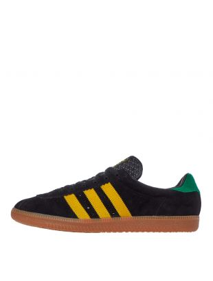 adidas padiham trainers FV1198 black / green / yellow