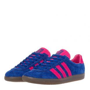 Padiham Trainers - Royal Blue / Pink