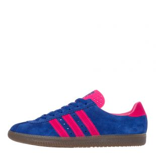 adidas Padiham Trainers EF5715 Blue Pink