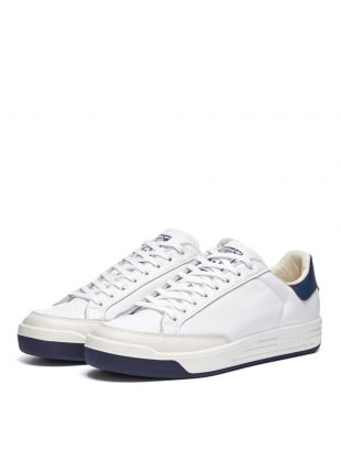 Rod Laver Trainers - White / Navy