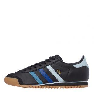 adidas rom trainers EF5733 black / blue